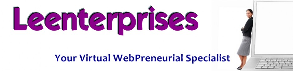 Leenterprises | Virtual Webpreneurial Specialist